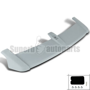 For 2007 2011 Honda Cr v Factory Oe Style Abs Rear Roof Top Spoiler Wing