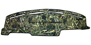 New Realtree Max 5 Camo Camouflage Dash Mat Cover 1999 04 Ford Super Duty