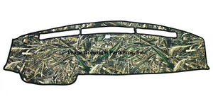 New Realtree Max 5 Camo Camouflage Dash Mat Cover For 2009 14 Ford F150 Truck