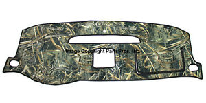 New Realtree Max 5 Camouflage Dash Mat Cover For 07 14 Chevy Suburban Yukon