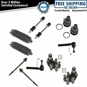 Tie Rod Ball Joint Sway Bar Link 12 Piece Kit For Sierra Silverado 1500 2wd New