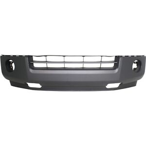 Front Lower Bumper Cover For 2007 2014 Ford Expedition Textured Plastic Capa