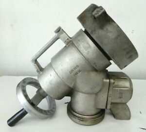 2 Awg Firetruck Fire Fighter Piston Intake Relief Valve 5 Nh X 4 Nh