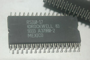 Rockwell R5310 17 64 pin Dip Zig Zag Package New Parts Rare Quantity 1
