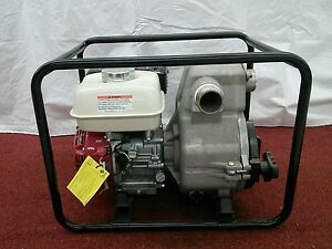 New Tsurumi Ept3 50ha 2 Gas Power Trash Pump Honda 5 5 Hp Engine Plumbing