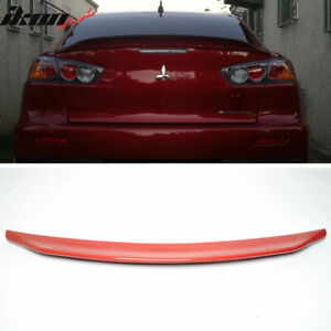Fits 08 17 Mitsubishi Lancer Evo X 10 Rs Style Rear Trunk Spoiler Painted p26