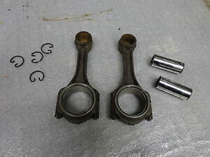 John Deere 1010 Crawler Tractor Two Connecting Rods And Wrist Pins
