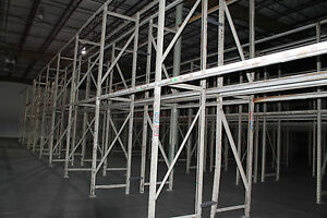 Palmer Shile Pallet Rack 15 Frames 12 x40 And 84 Beams 106 x4 1 2