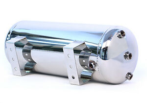 Specialty Suspension 19 X 6 Stainless Does Not Rust Air Tank 3 Gallon Polished
