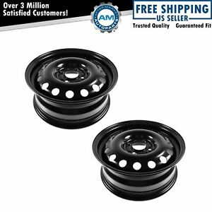 Dorman 15 Inch Steel Replacement Wheel Rim New Pair For Ford Focus Fiesta