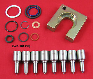 6 0l Powerstroke Performance Injector Nozzle Kit 30 Over 70 Hp