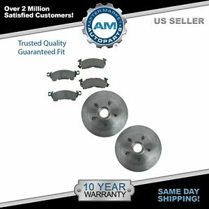 Posi Ceramic Brake Pad Rotor Kit Front For Chevy Pontiac Buick Olds