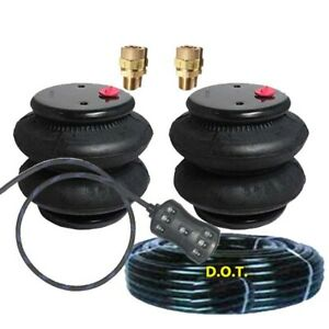 V 2600 Air Bags Air Ride Springs Pair Free 7 Switch Fits
