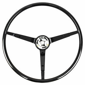 65 66 Ford Mustang Steering Wheel Only Standard Black