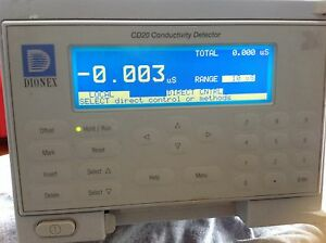 Dionex Cd20 Conductivity Detector Ion Chromatography Hplc