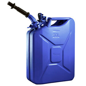 New Wavian 20 Liter Nato Military Steel Jerry Can Blue 3012