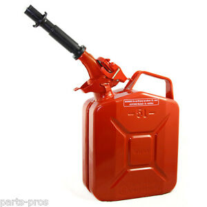 New Wavian 5 Liter Nato Military Steel Jerry Can Red 3015