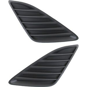New Set Of 2 Fog Light Covers Driver Passenger Side To1039147 To1038147 Pair