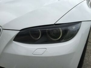 07 10 Bmw E92 E93 3 Series Coupe 328i 335i M3 Headlight Eyelid Overlays