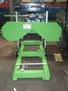 Bandsaw Mill Sawmill Band Sawmill 14 Hp Kohler 24 Foot Track electric Start New