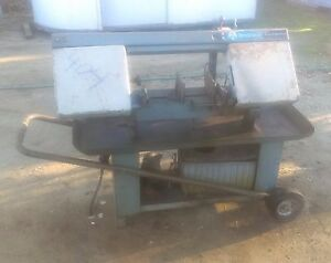 Rockwell Model 7v Horizontal Band Saw 7 X 11 Metal