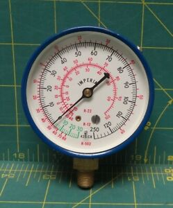 Imperial 2 1 2 Refrigeration Gauge Lower 1 8 Npt