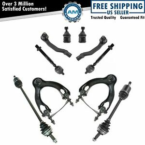 10 Piece Steering Suspension Axle Kit Set For Honda Civic Del Sol New
