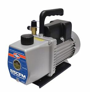 Uniweld U5vp2 115 220 v 2 stager 5 5 Cfm Vacuum Pump Easy To Carry