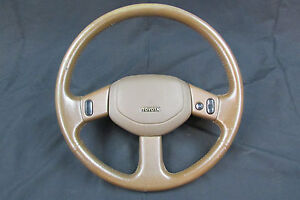 Toyota 4runner Truck Brown Leather Steering Wheel Crusie Control 1990 1995 1991