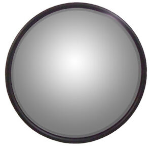Universal 8 5 Round Mirror Convex W L Bracket For Offset Mounting Stainless
