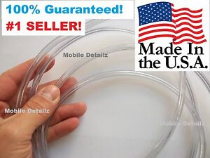 30 Foot Roll made In Usa Edge Trim Suv Car Truck Clear Door Edge Guards