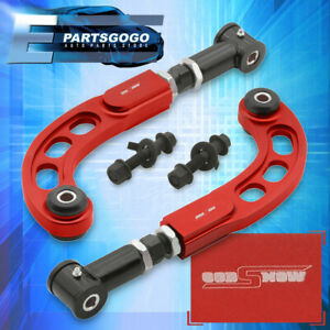 2005 2010 Scion Tc Suspension Cnc Front Bolt Black Rear Camber Arm Rod Kit Red