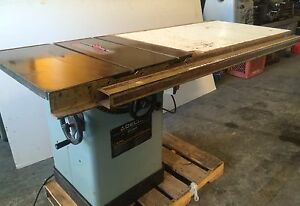 Delta 34 802 Unisaw 10 Tilting Arbor Table Saw Wood