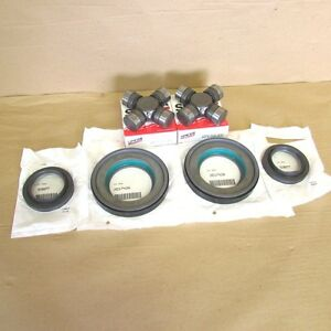 Seal And Greasable U Joint Kit Ford Super Duty F250 F350 Dana Super 60 Front