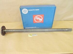 Axle Shaft Gm 14 Bolt 10 5 Inch Rear Full Floating Style 3977383 Lh Drivers Side
