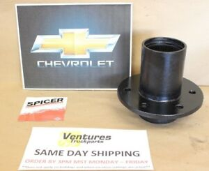 Wheel Hub Front Chevy Gm Dana 44 Or 10 Bolt Large Bearing Spindle Style 6 On 5 5