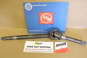 Axle Shaft 28 Spline With New Spicer U Joint Gm 10 Bolt Rh Passenger Front