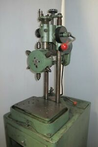 Burgmaster 6 Station Spindle Turret Drill Press 1 3 Hp Model Ob Tapping Drilling
