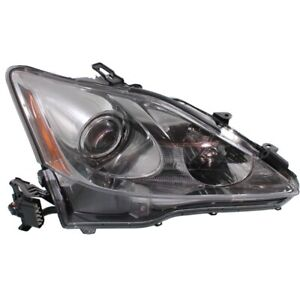 Headlight For 2006 2007 2008 Lexus Is250 Right With Wiring Harness