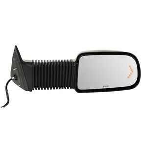 Towing Mirror For 2003 2006 Chevrolet Silverado 1500 Camper Textured Right