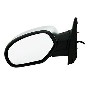Power Mirror For 2007 2013 Chevrolet Silverado 1500 Left Manual Folding Chrome