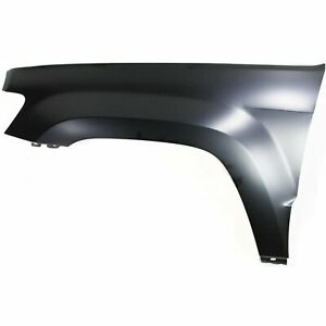 Fender For 2005 2010 Jeep Grand Cherokee Front Driver Side Primed Steel