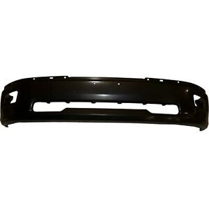 Front Bumper Primed With Foglamp Holes For Dodge Ram 1500 2009 2012