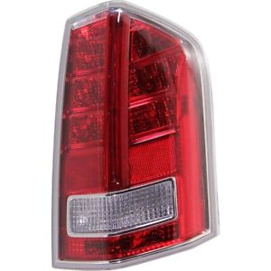 Tail Light For 2011 2012 Chrysler 300 Passenger Side With Red Accent