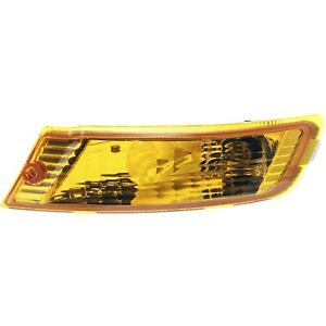 Turn Signal Light For 2005 2007 Jeep Liberty Plastic Lens Driver Side