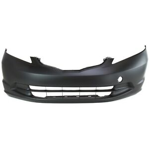 Front Bumper Cover For 2009 2013 Honda Fit Primed