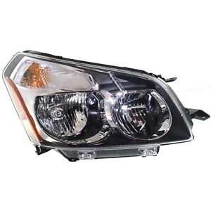 Headlight For 2009 10 Pontiac Vibe Gt Awd Right With Bulb And Turn Signal Light