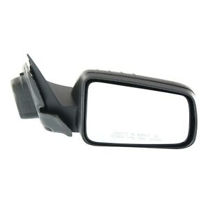 Power Mirror For 2008 2011 Ford Focus Front Passenger Side Textured Black