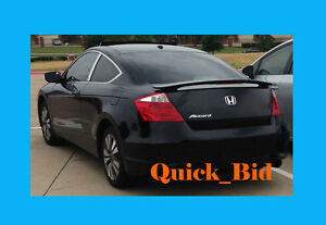 Brand New 2008 2012 Honda Accord 2d Factory Style Rear Wing Spoiler Primer