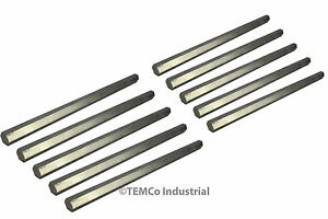 10x 1 2 Inch 10 Long 304 Stainless Steel Hex Bar Lathe Ss Rod Stock 50